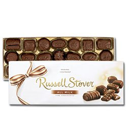 Russel Stover Chocolates 4161 12oz. Assorted Extract Chocolate Box