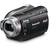 Panasonic HDC-HS100 Flash Memory High Definition Camcorder with 60GB Hard Drive & 12x Optical Zoom (Discontinued by Manufacturer)