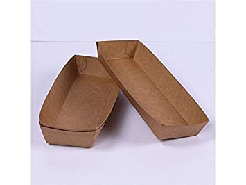 Yyanliii Caja desechable de Comida rápida para bocadillos ...