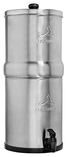 Alexapure Pro Stainless Steel Water Filtration System - 5,000 Gallon Throughput Capacity by Alexapure (Image #12)