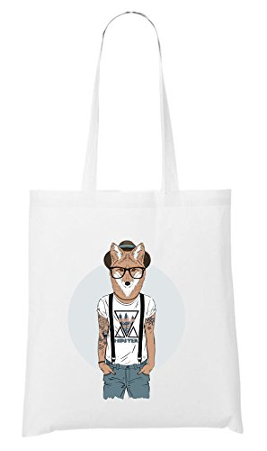 Hipster Certified Blanc Freak Fox Bag rqtwErXx