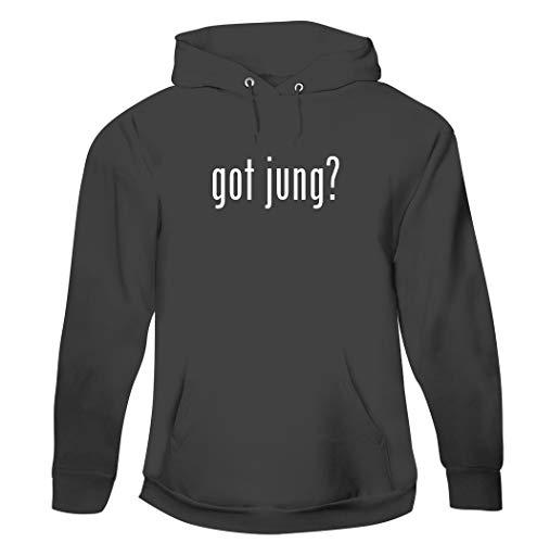 got jung? - Men's Pullover Hoodie Sweatshirt, Grey, XXX-Large