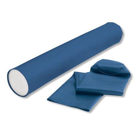 Foam Roller Cover - Blue Vinyl
