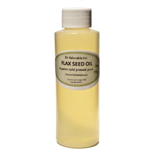 Flax Seed Oil Organic Pure 4 Oz