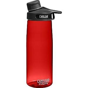 CamelBak Chute Water Bottle, 0.75 L, Cardinal