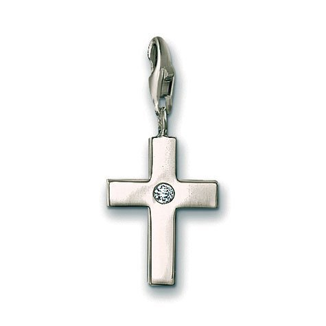 (Thomas Sabo Christian Cross Charm, Sterling Silver)