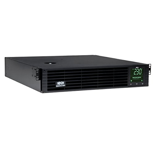 230v 6 Outlet (Tripp Lite SMX1000RT2U 1000VA Intl UPS Smart Pro Rack/Tower Line-Interactive 230V 6 outlets)