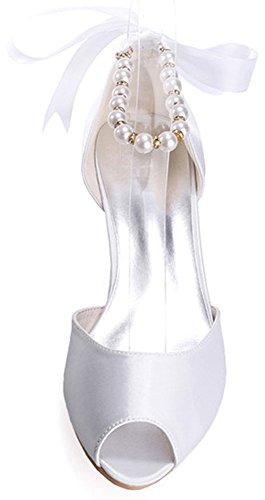 Find 5 Nice Femme Blanc 36 Ouvert Bout Blanc rwrzP4qFn