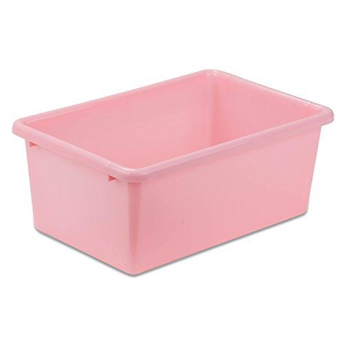 Honey-Can-Do PRT-SRT1603-SmLtPnk Plastic Sorter Bin, Small, Light Pink