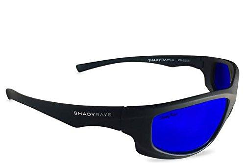 Shady Rays Polarized Sport Sunglasses X Series, Black, - U 4 Sunglasses