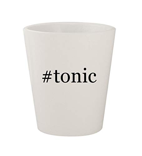 #tonic - Ceramic White Hashtag 1.5oz Shot Glass