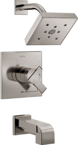 Faucet T17467 SS Monitor Shower Stainless
