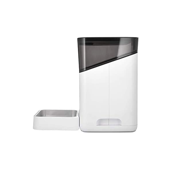 Petnet SmartFeeder (2nd gen) - Automatic Wi-Fi Pet Feeder with Personalized Portions for Cats and Dogs - App for Android, iOS and Compatible with Alexa - White 3