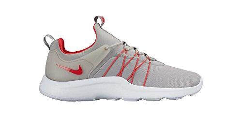 Nike Darwin (Gs), Zapatillas de Running para Niños Plateado (Matte Silver / Action Red-White)