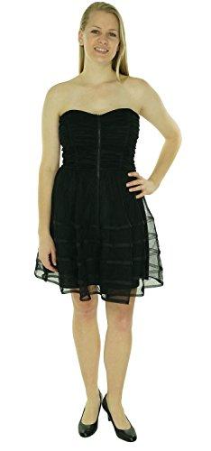 Dress Bubble Strapless Adam Blacks Women's amp; Betsy qwXp78nzn