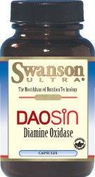 Swanson Ultra Daosin la diamine oxydase 4,20 mg 30 Caps