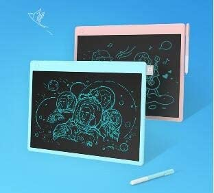 Suitable For Children Writing Tablet Pink exquisite Electronic Component Materials Hongyushanghang LCD Tablet Blue Students,30231.6cm Early Education Intelligence