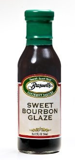 Braswell Sweet Bourbon Glaze 12 oz. Bottle (Pack of 6)
