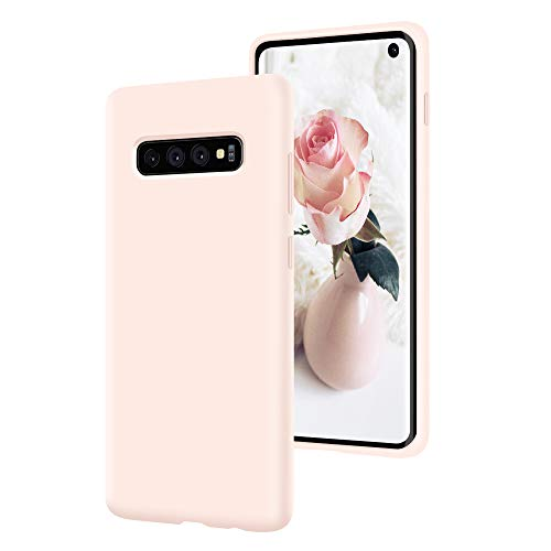 SURPHY Silicone Galaxy S10 Case, Slim Liquid Silicone S10 Phone Case Cover with Microfiber Lining Compatible with Samsung Galaxy S10 6.1