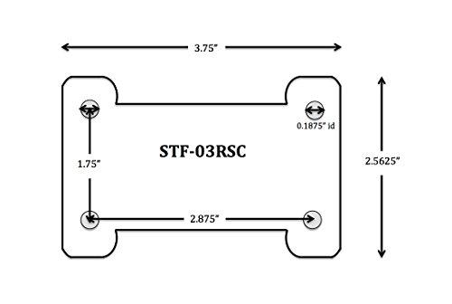 Shop Tuff STF-03RSC 3'' Steel Rigid Caster by Shop Tuff (Image #4)
