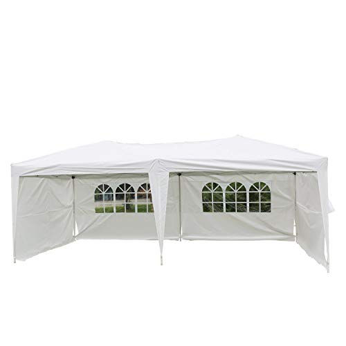 (Kinbor Outdoor Portable Instant Pop Up Gazebo Party Wedding BBQ Canopy Tent)