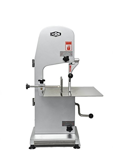 KWS B-210 Countertop Model Commercial 1900W 2.5HP Electric Meat Band Saw Bone Saw Machine/Slicer Heavy-Duty