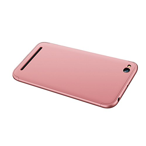 Xiaomi Redmi 5A Caso, Vandot de 360 Grados Alrededor de Todo el Cuerpo Completo de Protección Ultra Thin Slim Fit Cubierta de la Caja de Mate PC Absorción de impactos Shockproof para Xiaomi Redmi 5A ( PC QBHD-4