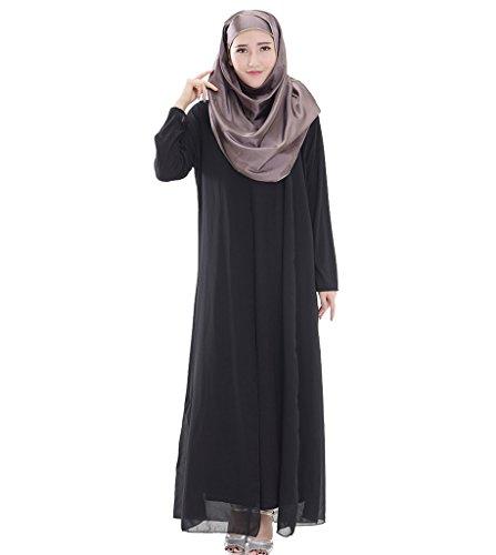 arab black dress - 3