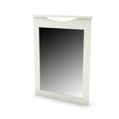 ertical Mirror in Pure White Finish ()