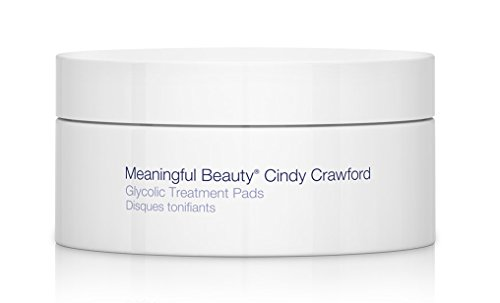 Meaningful Beauty Glycolic Treatment Pads, Skin Revitalizing Solution, 30 Count
