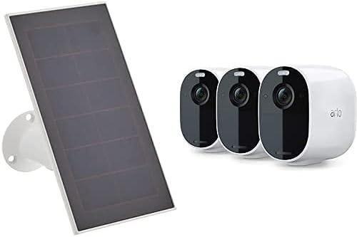 Panneau Solaire Pour Essential et 3 Caméras Essential
