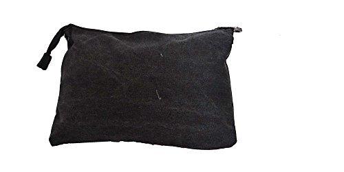 angesagte Tasche, Handtasche, kleine Umhängetasche mit Stern und Echtleder, Vintage schwarz