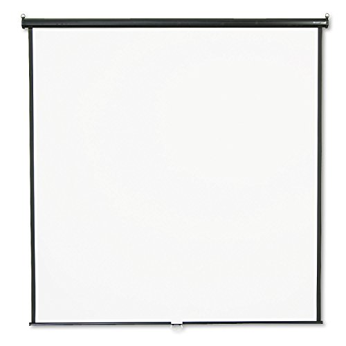 QRT684S - Quartet Manual Projection Screen - 118.8 - 1:1 - Wall Mount, Ceiling Mount