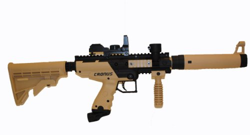 Cronus Tactical Tippmann Paintball Gun with Electronic Quick