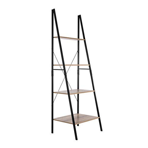 Well Traveled Living 62758 Tribeca A-Frame Ladder Shelf Bookshelf, Brown