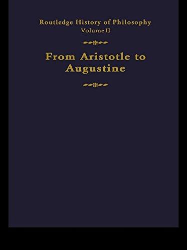 Routledge History of Philosophy Volume II: Aristotle to Augustine Pdf