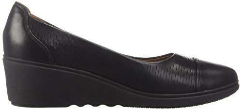 Pumps Tallara Clarks Dee Un Black Women's Leather TUUq8BvWw