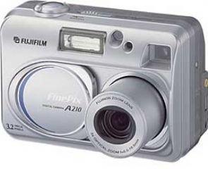Fujifilm A210 3.2 MP Digital Camera w/3x Optical Zoom