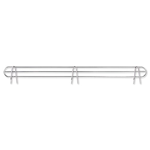 - Alera ALESW59BS48SR Wire Shelving Back Support, 48