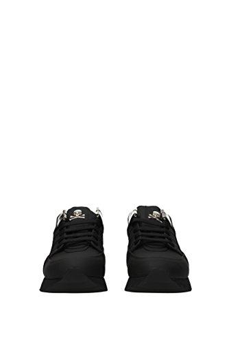 Eu Philipp Cuir Sneakers Plein Caoutchouté msc0508ple008n Noir Homme TYxURBqY