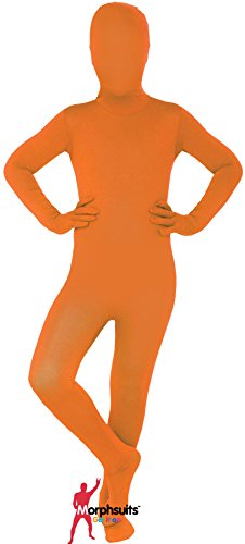 Morphsuits Orange Original Kids Costume - Size Medium 3'6-3'11 (105cm-119cm)