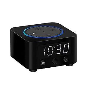 Clock Stand for Amazon Echo Dot 2nd Gen (Not 3rd Gen) – Black