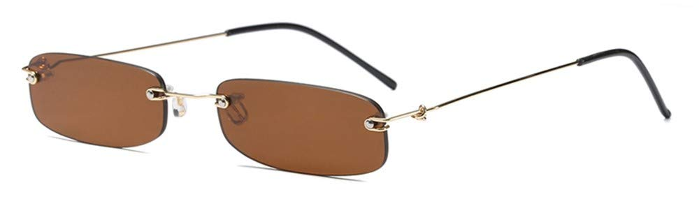 LAMAMAG Gafas de sol Gafas de Sol estrechas para Hombres Sin ...