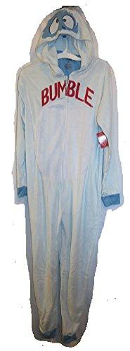 Men's Rudolph The Red-Nosed Reindeer Bumble Yeti Union suit Unionsuit Medium]()