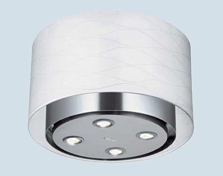 Faber 52 cm vainilla de acero inoxidable y cristal para campana extractora isla/ventilador Extractor 520 mm (2 años del fabricante de garantía): Amazon.es: Hogar