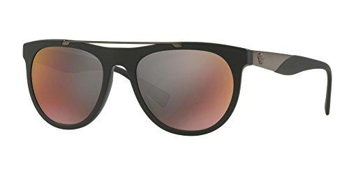Sunglasses Versace VE 4347 5122W6 MATTE - Sunglasses Versace All Black