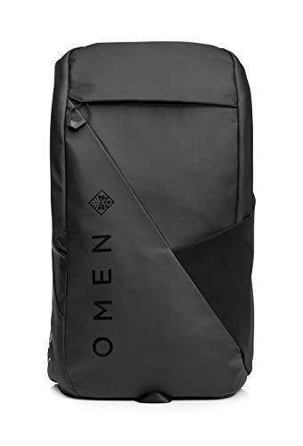 HP OMEN Transceptor 15 – Mochila gaming (Compartimento acolchado de 15.6″ cm, multitud de bolsillos, resistente al agua) negro