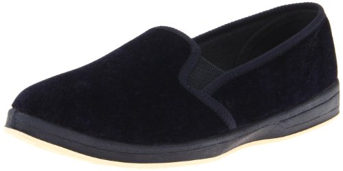 Foamtreads Womens Debbie,Navy Velour,11 W US