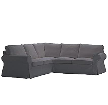 Delicieux Replace Cover For IKEA Ektorp 2+2 Corner Sofa, 100% Cotton Sofa Cover