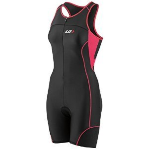 Louis Garneau Women's Comp Tri Suit (Black/Pink, (Louis Garneau Tri Suit)
